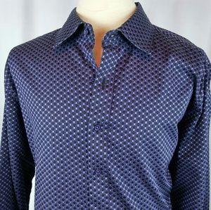 Other - Robert Graham Shirt Tezture Purple/Black Check 3XL
